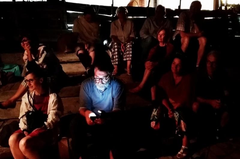 Metti una sera e la bellezza dell'ortoteatro nell'ultima #letturamobile agostana a Ca' Shin