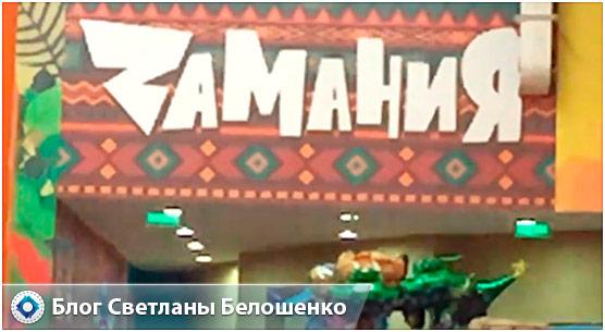 Детский центр Замания в ТЦ Косино-Парк: отзывы, фото, видео