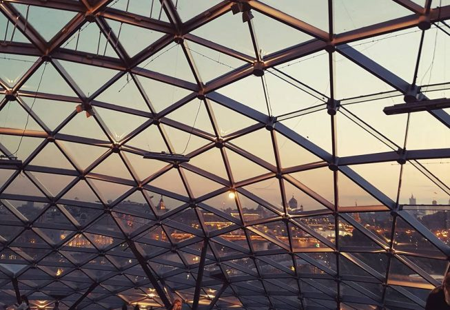 Zaryadye Park Glass Gridshell Gridshell Structure Structural Engineering