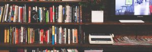 Books, home office
