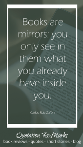Books are mirrors quote about reading
