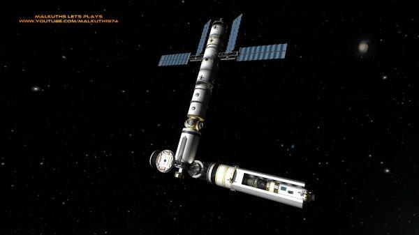 Kerbal Space Program My New Space Station (work in ...