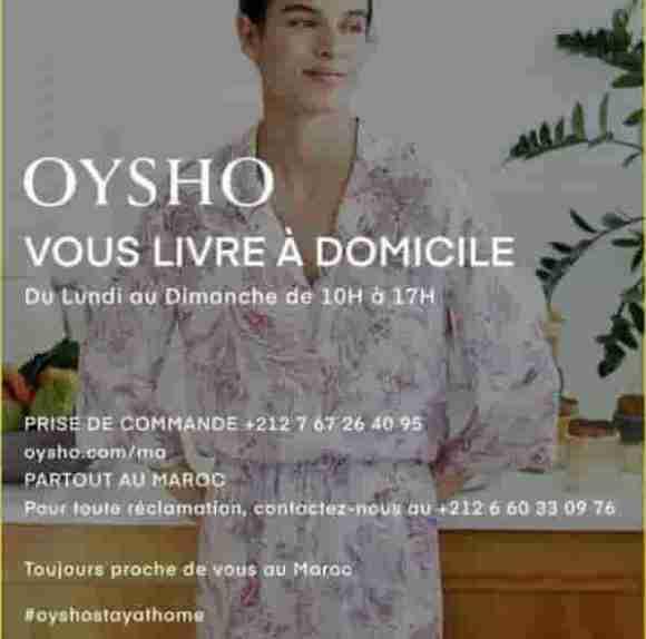 OYSHO LIVRAISON