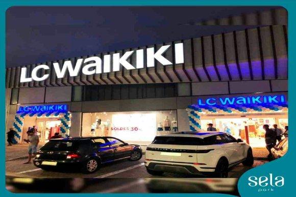 Magasin Lc Waikiki à Sela Park