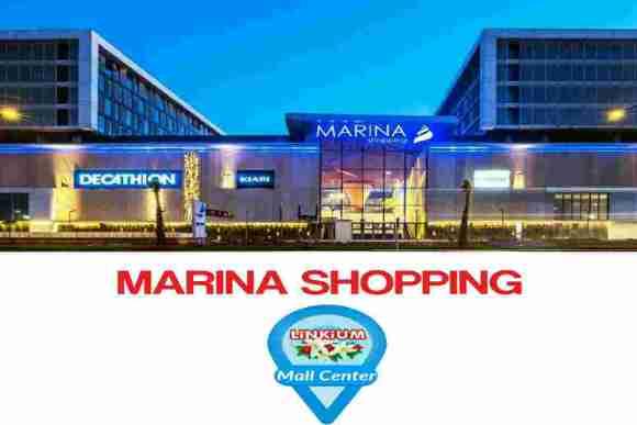 Entrée du Marina Shopping de Casablanca