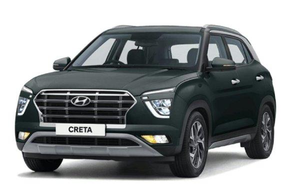 Le Hyundai Creta en image de face