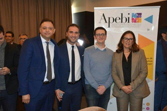 L'équipe de Apebi et sa directrice en photo