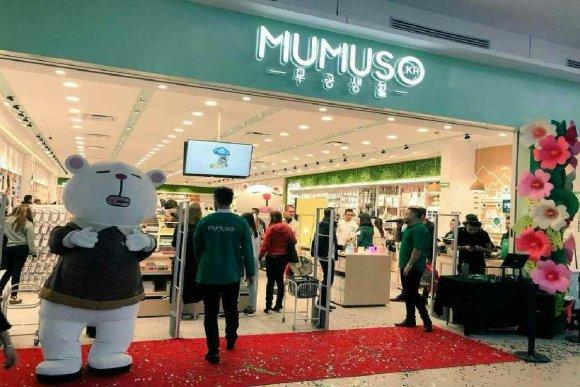 photo d'un magasin Mumusso, le jour de son inauguration