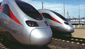 Photos des trains Al Boraq vus de face
