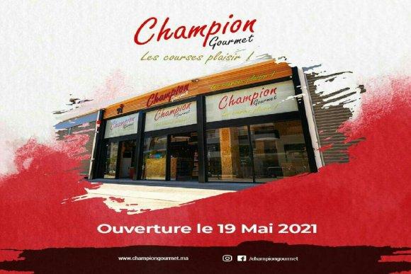 image de l'entrée du magasin Champion Gourmet