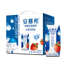 Ambpoeial Strawberry Flavored Yoghurt 安慕希草莓风味酸奶 205gX12