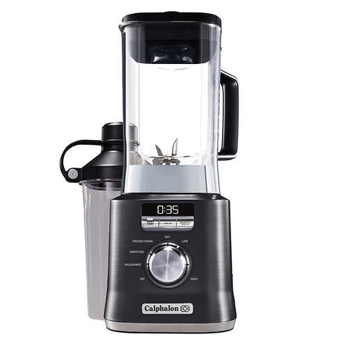 Calphalon Auto-Speed Blender, Dark Stainless Steel