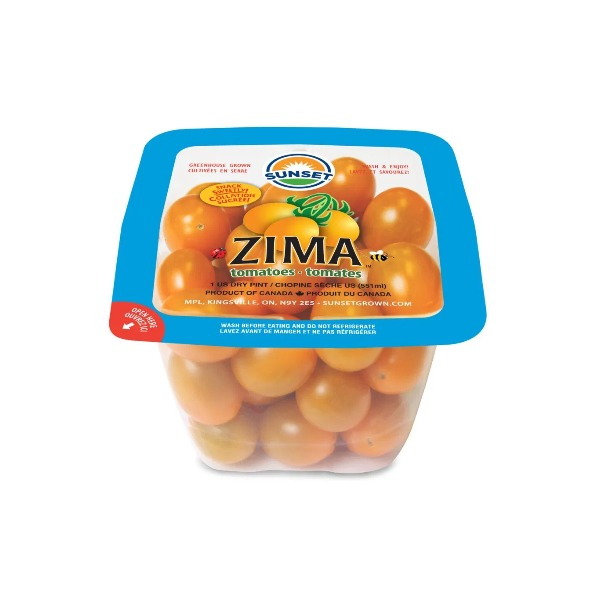 Zima Sweet Tomatoes/1 pint 盒装黄番茄 EA