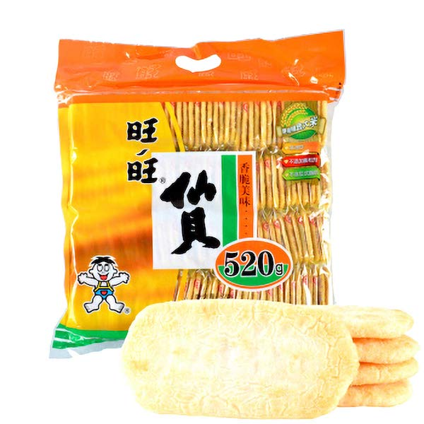 WantWant Senbei Rice Crackers 旺旺仙贝 520g