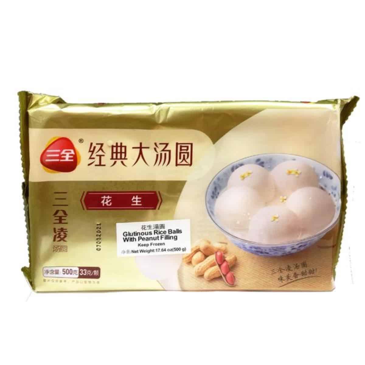 SQ Glutinous Peanut Rice Ball 三全精选花生大汤圆..