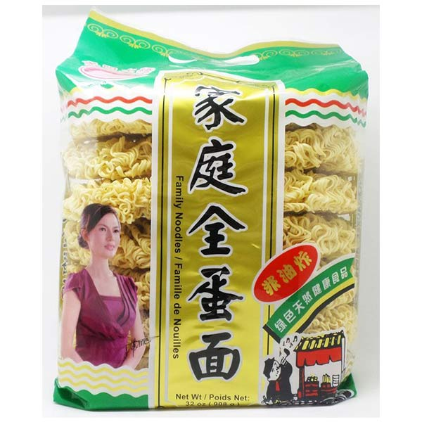 Egg Noodles 东明大桥家庭全蛋面 908g *2