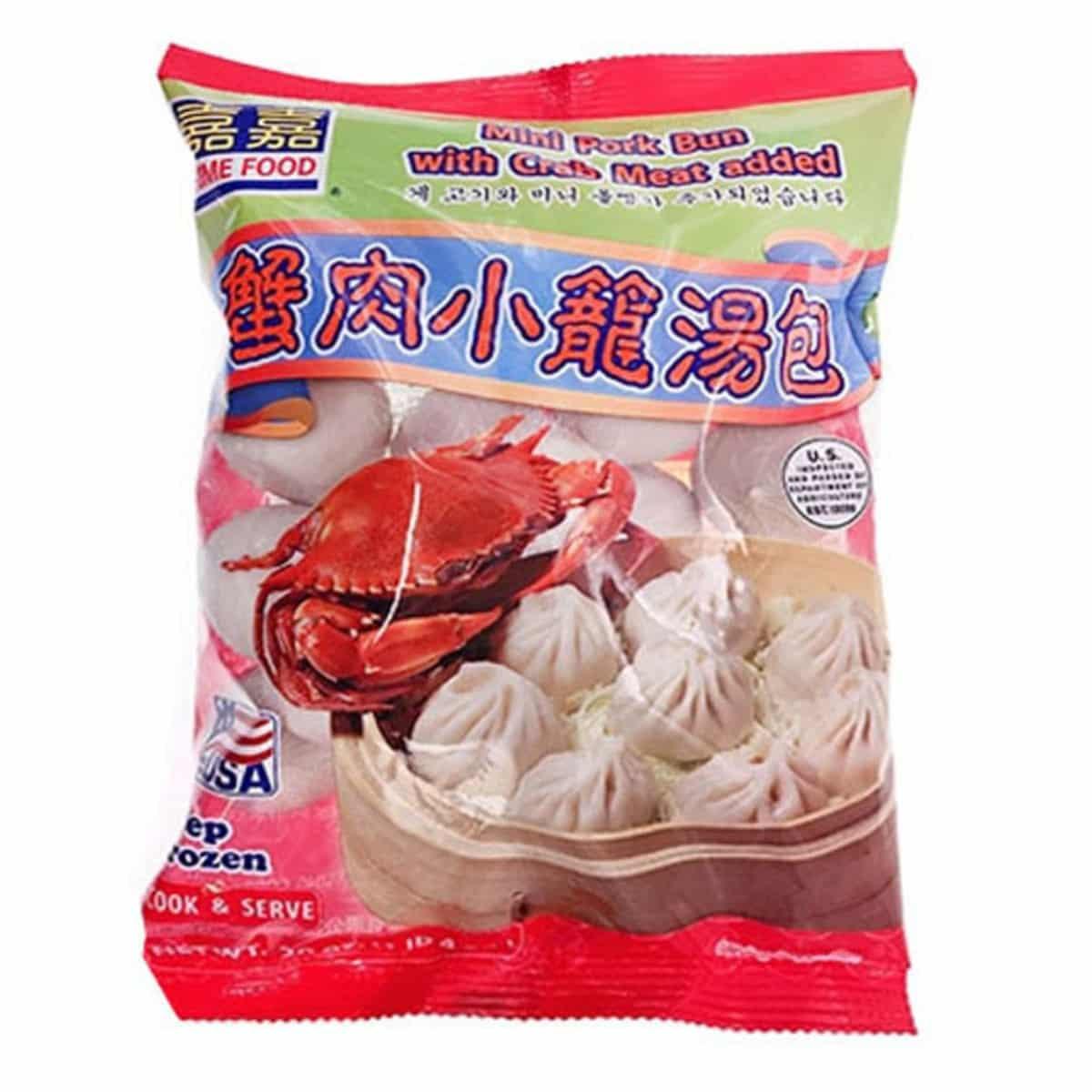 PF Mini Pork Bun with Crab..