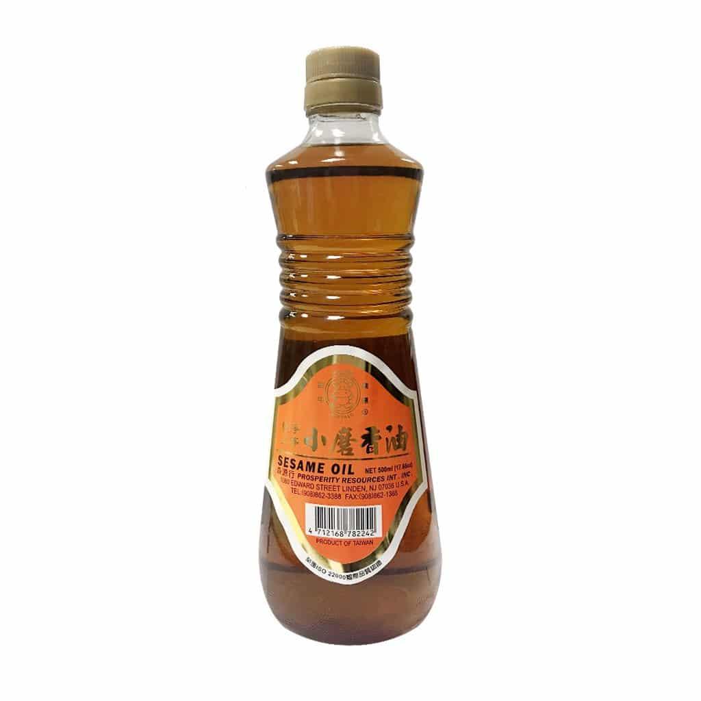 Golden Bull Sesame Oil 金牛小磨香油 17.6oz/瓶