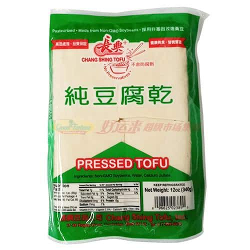 Chang Shing Pressed Tofu 长兴纯豆腐干 340g