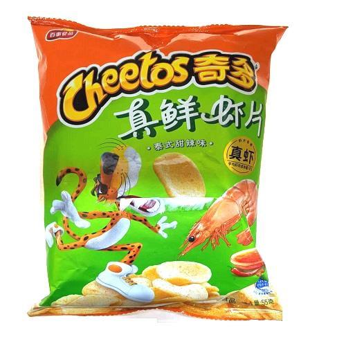 Cheetos Chim Dll 奇多真鲜虾片 甜辣味 55g..
