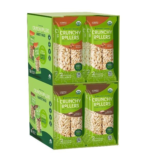 Friendly Grains Organic Crunchy Rollers 14..