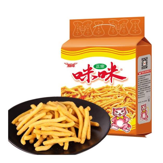 Mimi Shrimp Flavored Chips 爱尚咪咪虾条 180g*2