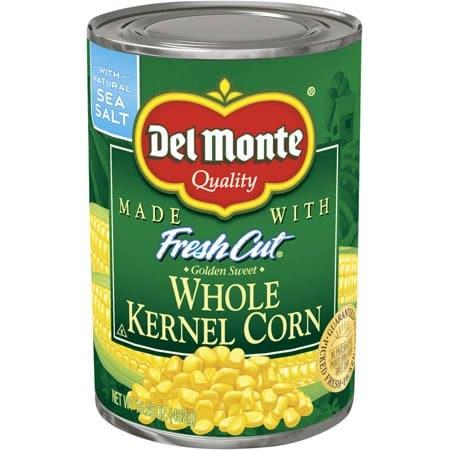 Del Monte Whole Kernel Corn 15.25..