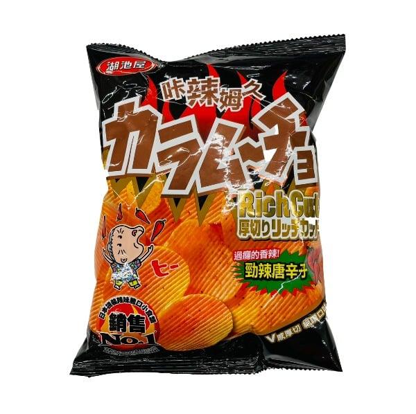 Huchiwu Koikeya Cracker Super Spicy Stick–..