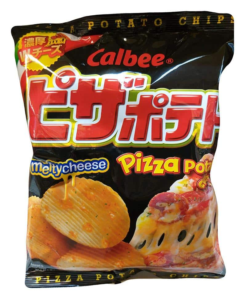 Calbee Pizza Potato Chip 卡乐比 芝士味薯片2.45..