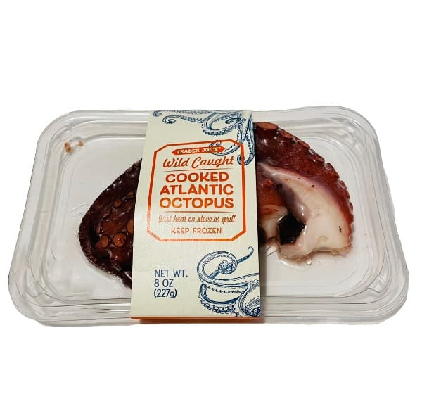 Trader Joe's Cooked Atlantic Octopus 8..