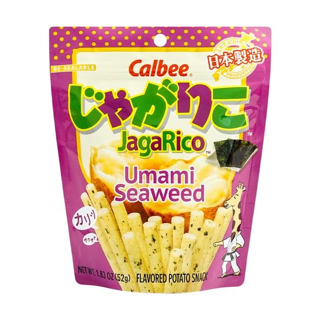 Calbee JagaRico Potato Stick Seaweed 卡乐比薯条/海苔味..
