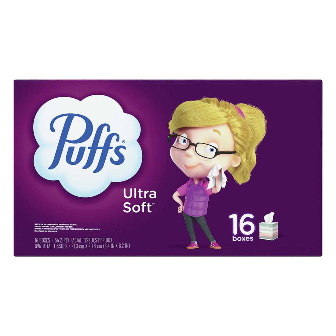 Puffs Ultra Soft and Strong Facial..