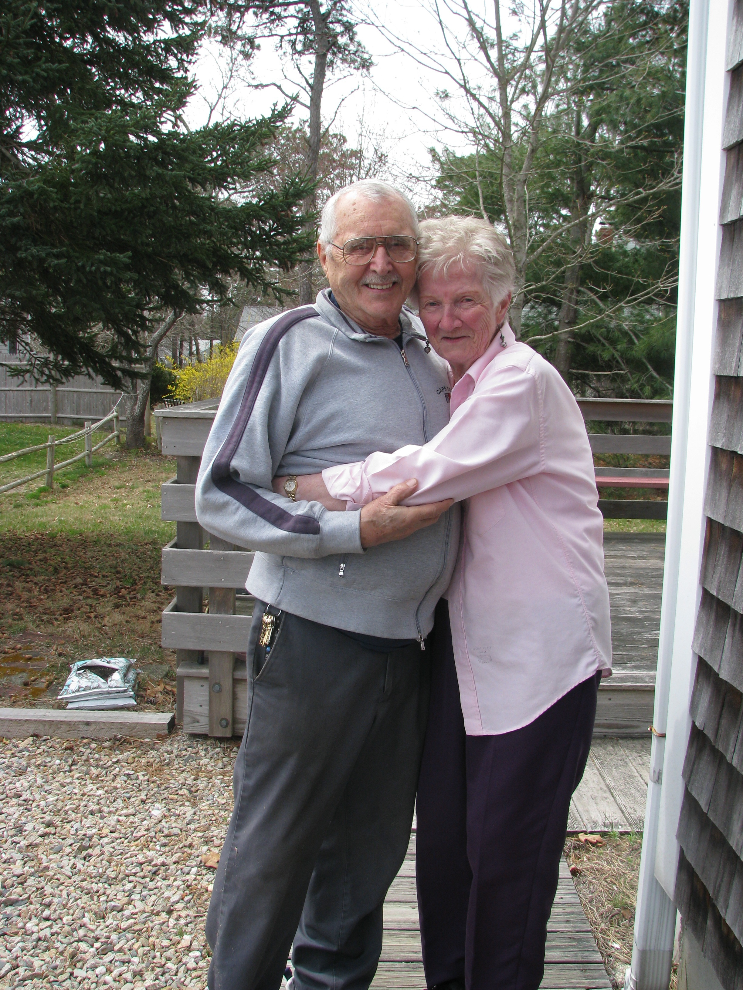 My dad took this photo on Cape Cod where my Gramz and Gordon live.