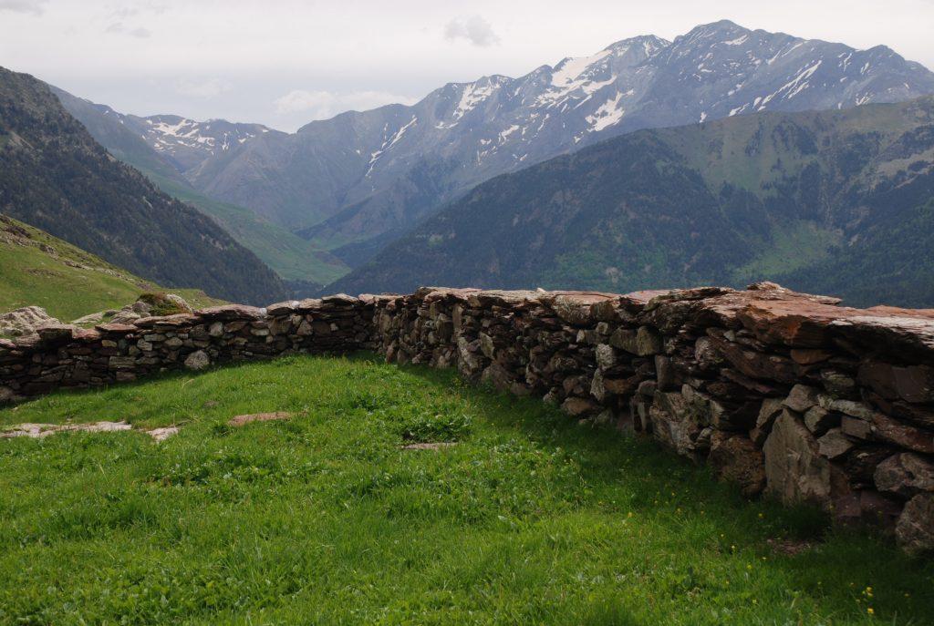 Mallata en el Valle de Chistau (Foto: Wikipedia)
