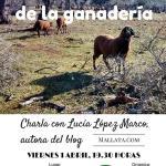 Charla en Zaragoza: La sostenibilidad de la ganadería