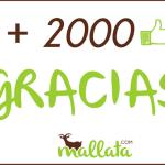 +2000 en Facebook :)