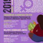 Tocando Tierra: Foro de Sobiranía Alimentaria, Feminismos y Esfensa d'o territorio