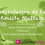Presentación de la Revista Mallata en La Pantera Rossa