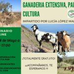 """Charla online gratuita """"Ganadería extensiva, paisaje y cultura"""""""