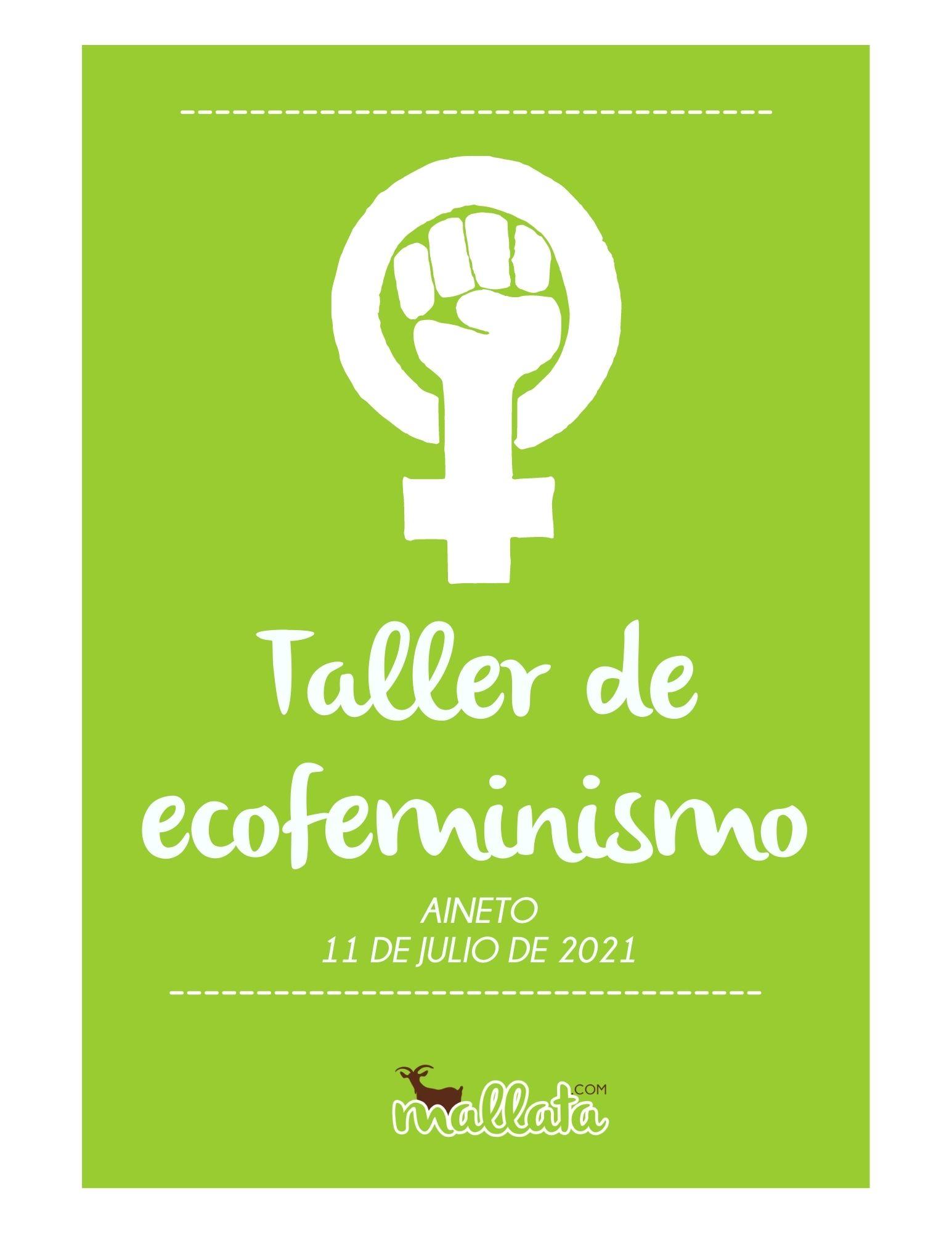 Taller ecofeminismo Aineto - Mallata