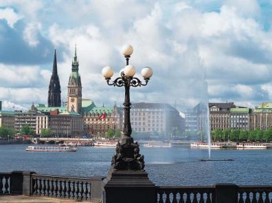 die Alster - Hamburg