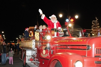 Christmas at Southlands Shopping Center Aurora Colorado