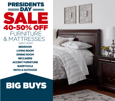 Save 40 50 Off Select Furniture And Mattresses When You Shop In Store Today During Our