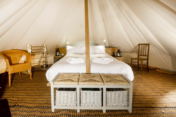 Twybil the bell tent
