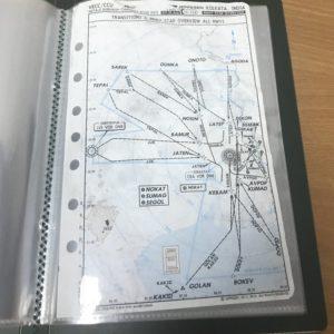 Record Book for Navigation Charts / A5 Sheets