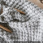 Easy Chunky Knit Blanket Pattern Mallooknits Com