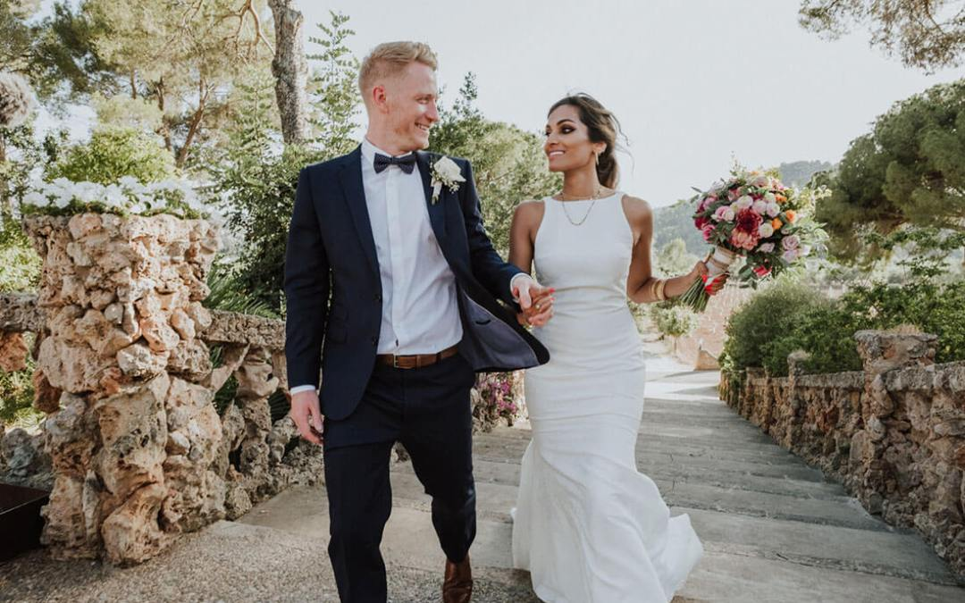 East meets West fusion wedding in Mallorca