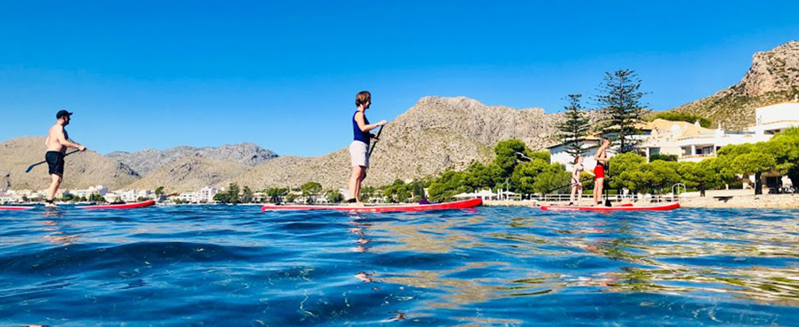 Paddle Board Taster Sessions with The Mallorca SUP Company