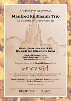 Manfred Kullmann Trio, 27.10. @ Iglesia de San Felipe Neri | Palma | Illes Balears | Spanien