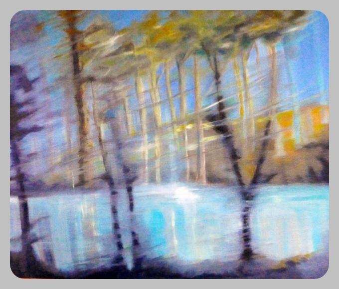 Ohne Titel, 2014,100 x 120 cm, Öl auf leinwand